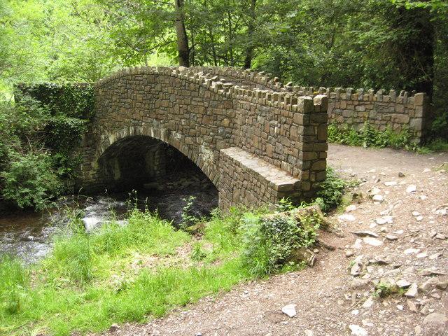 Bridge over the River Heddon - geograph.org.uk - 1603965