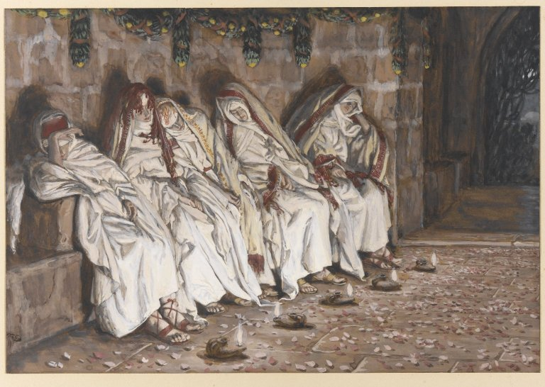 Image result for parable ten virgins tissot