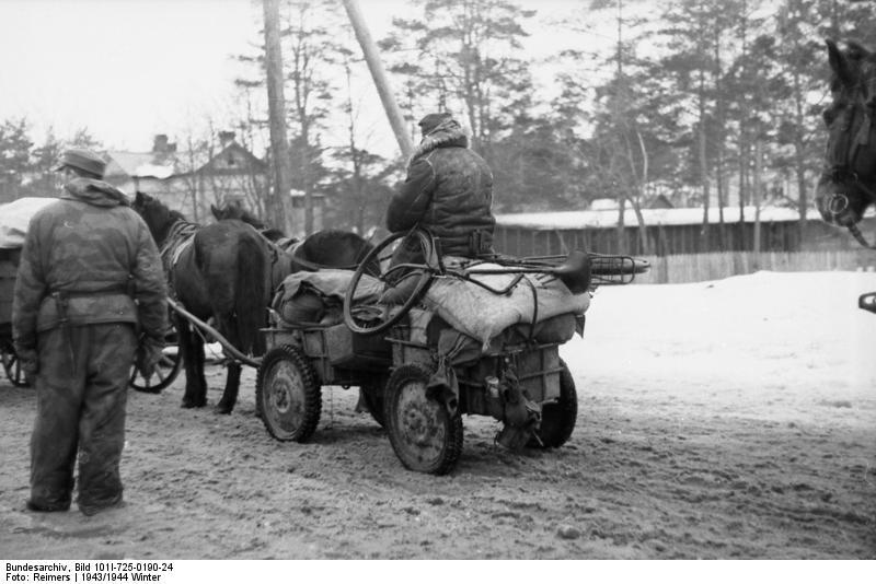 rückzug der deutschen wehrmacht in farbe
