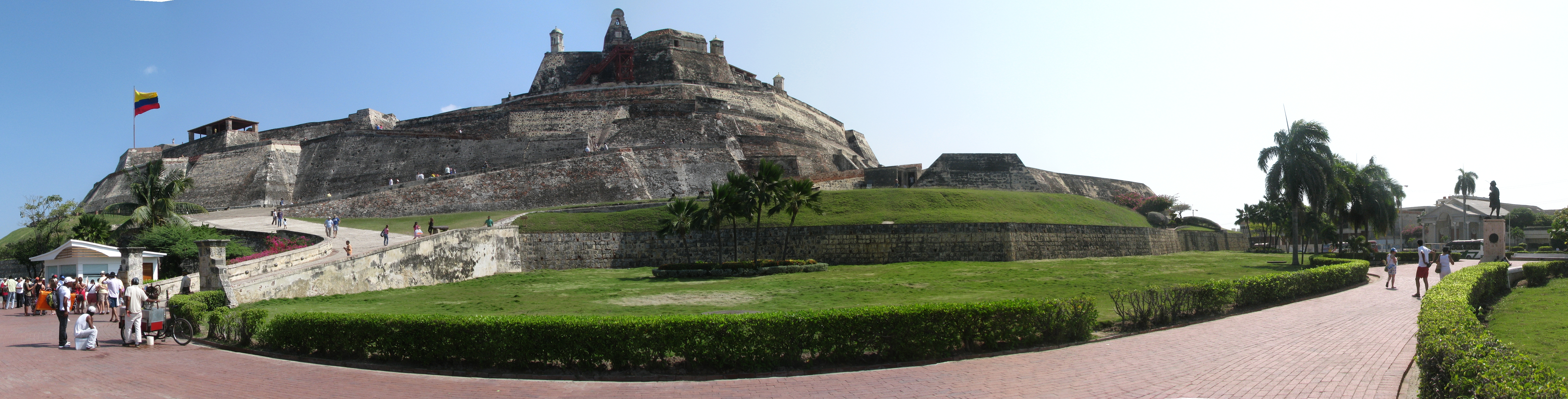 archivo castillo de san felipe de barajas 2 jpg wikipedia la rh es wikipedia org