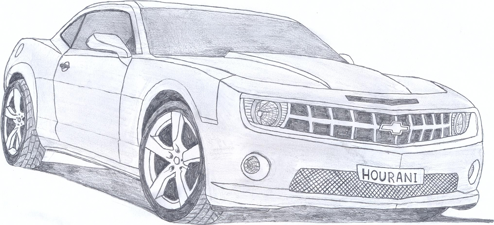 2010 Camaro Drawings Www Pixshark Com Images Galleries