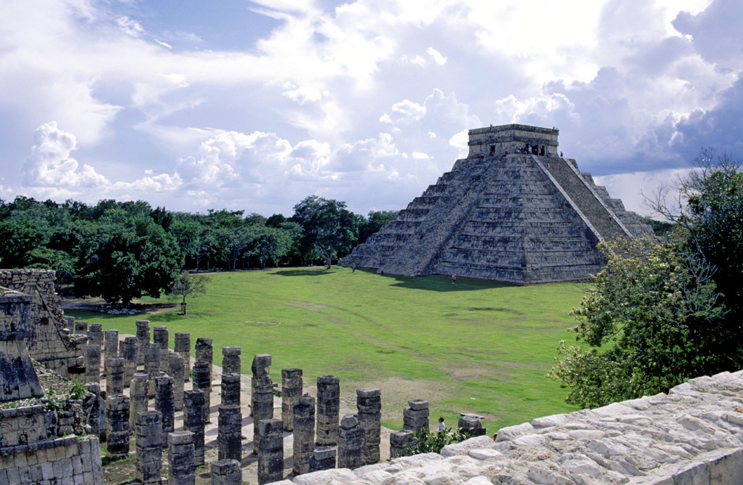 Mayan sites in western Belize