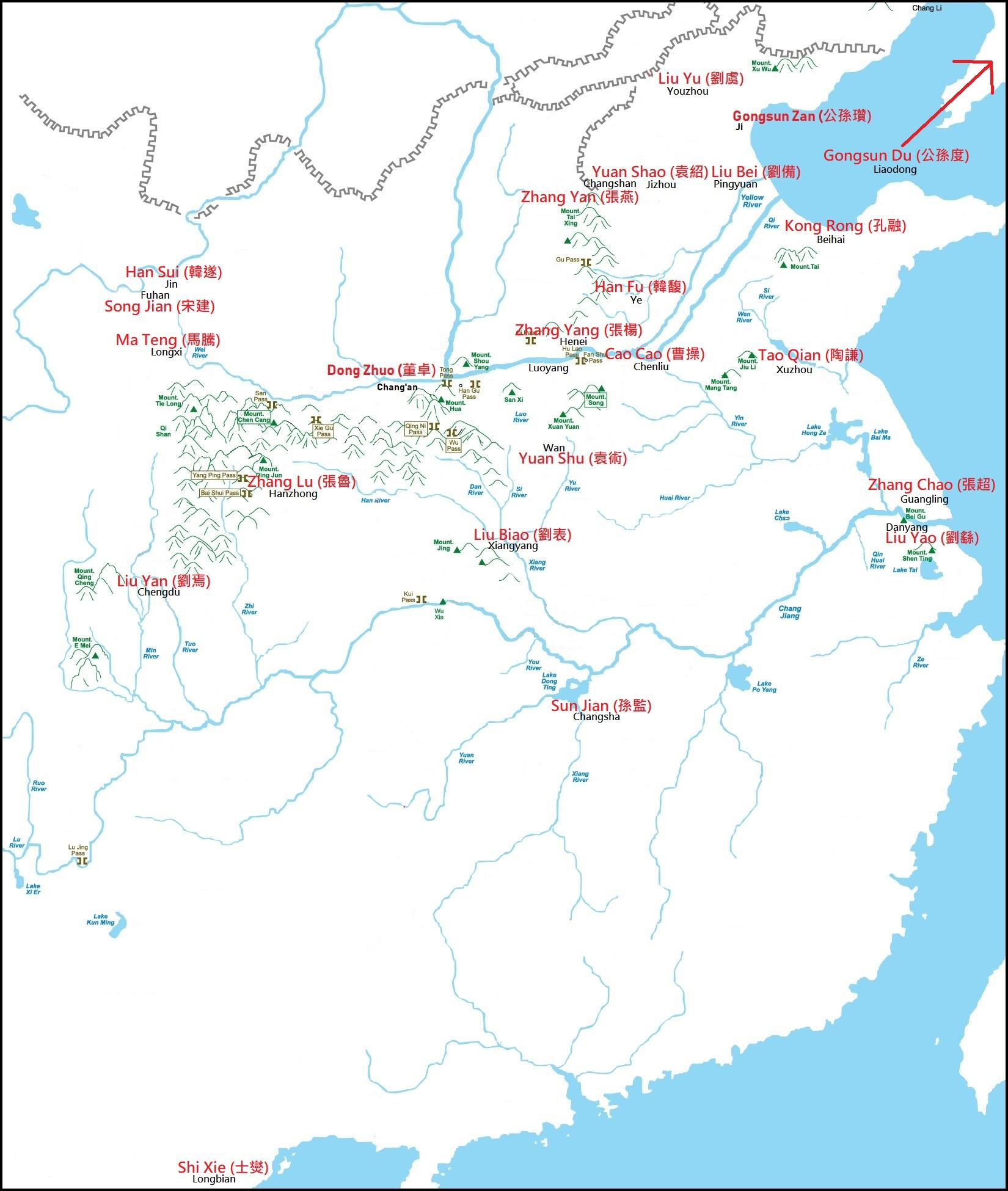 File:Chinese Warlords in 190AD post-Dong Zhuo War.jpg ...