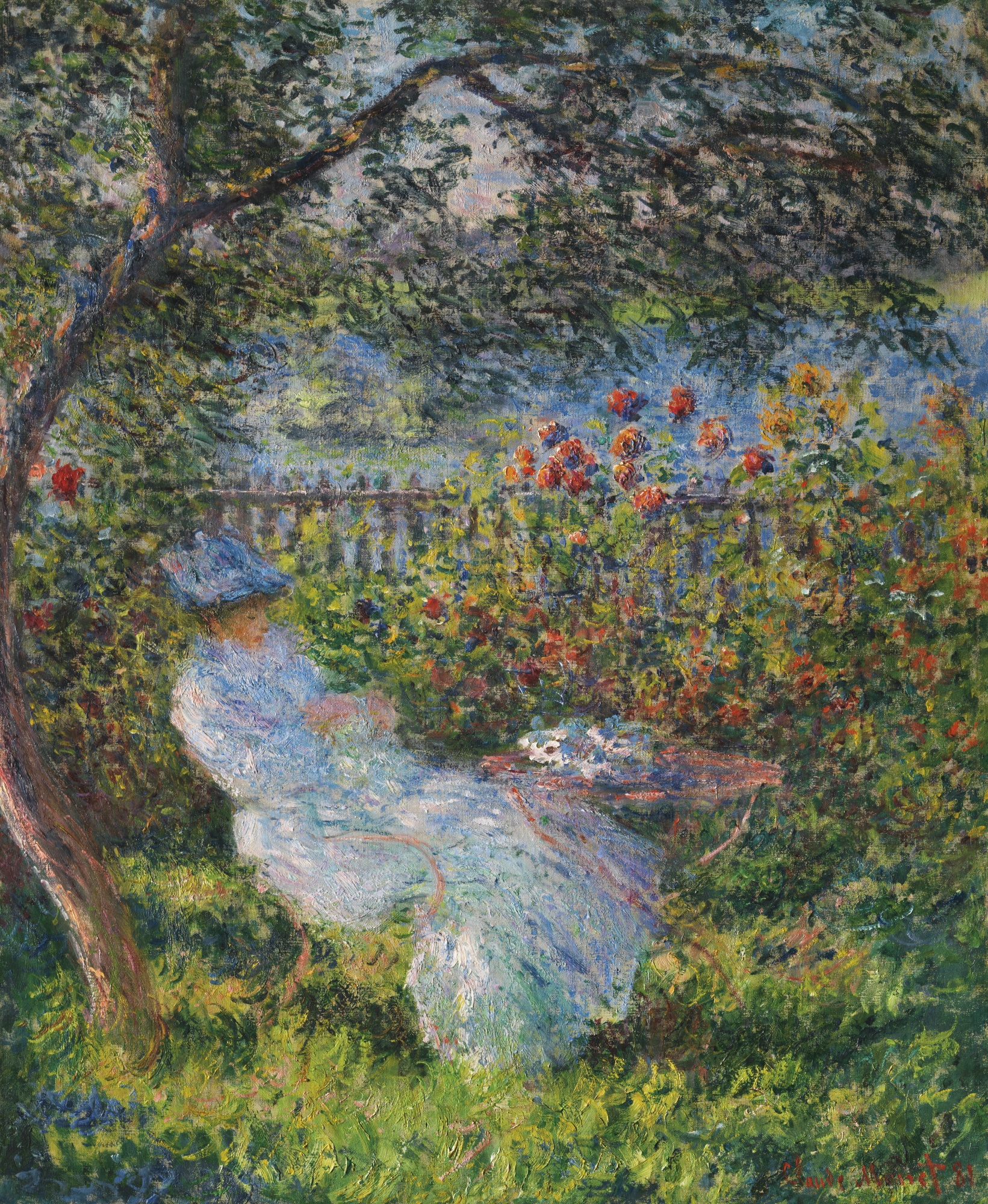 File:Claude Monet - Alice Hoschedé au jardin.jpg - Wikimedia Commons