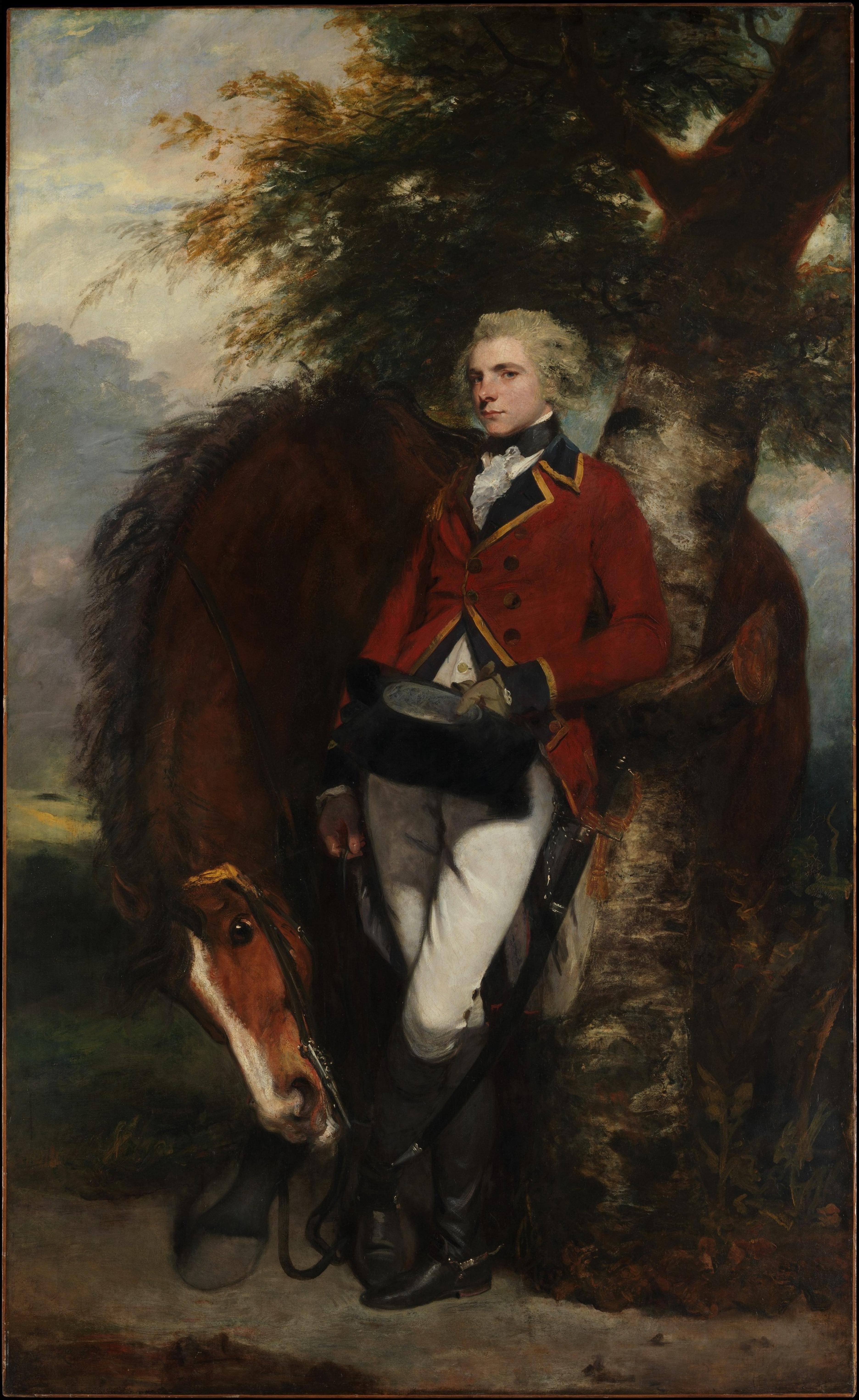 Joshua Reynolds – Captain George K. H. Coussmaker [3744×6098]
