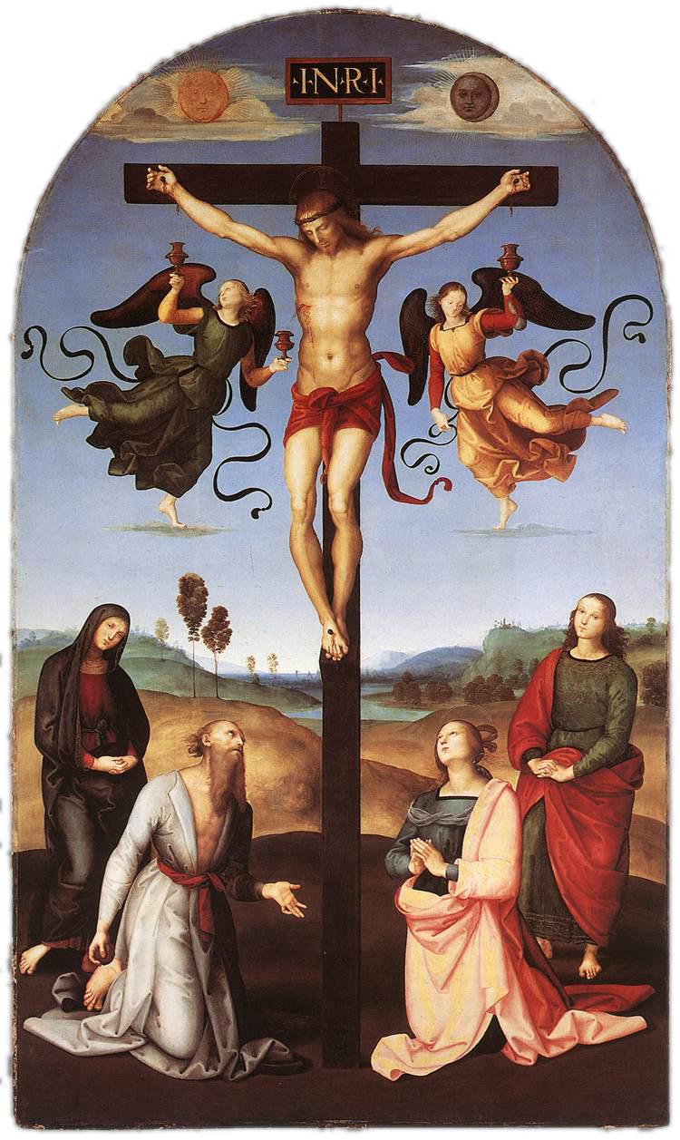 Crocifissione Gavari -1503/04 -Raffaello
