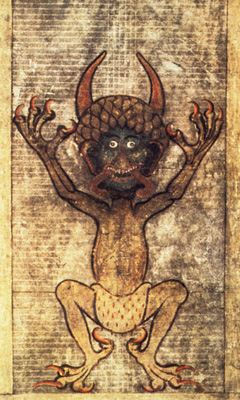 An actual 13th century picture of the Devil.