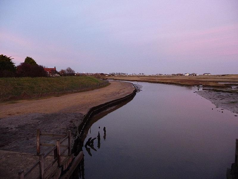 Dunwich River, Walberswick - geograph.org.uk - 1748385