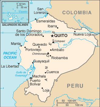 Ecuador-CIA WFB Map