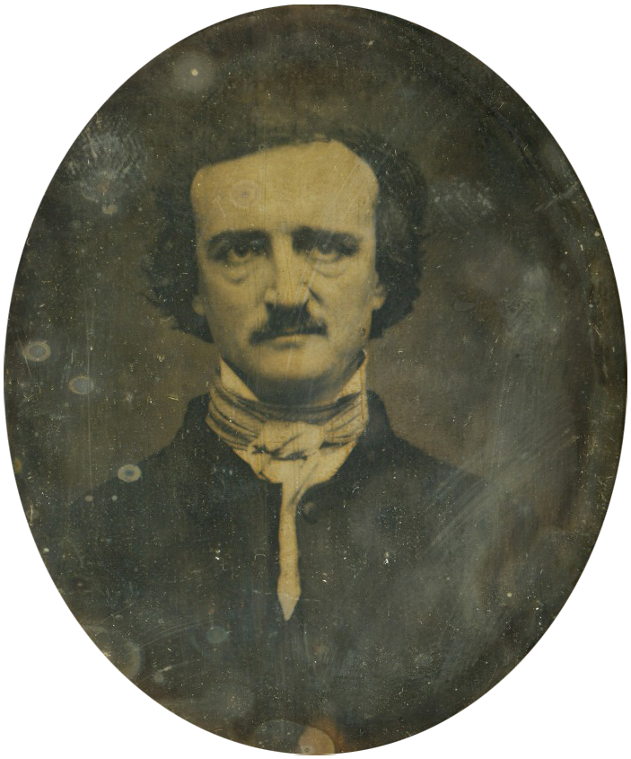 Photo Edgar Allan Poe via Opendata BNF