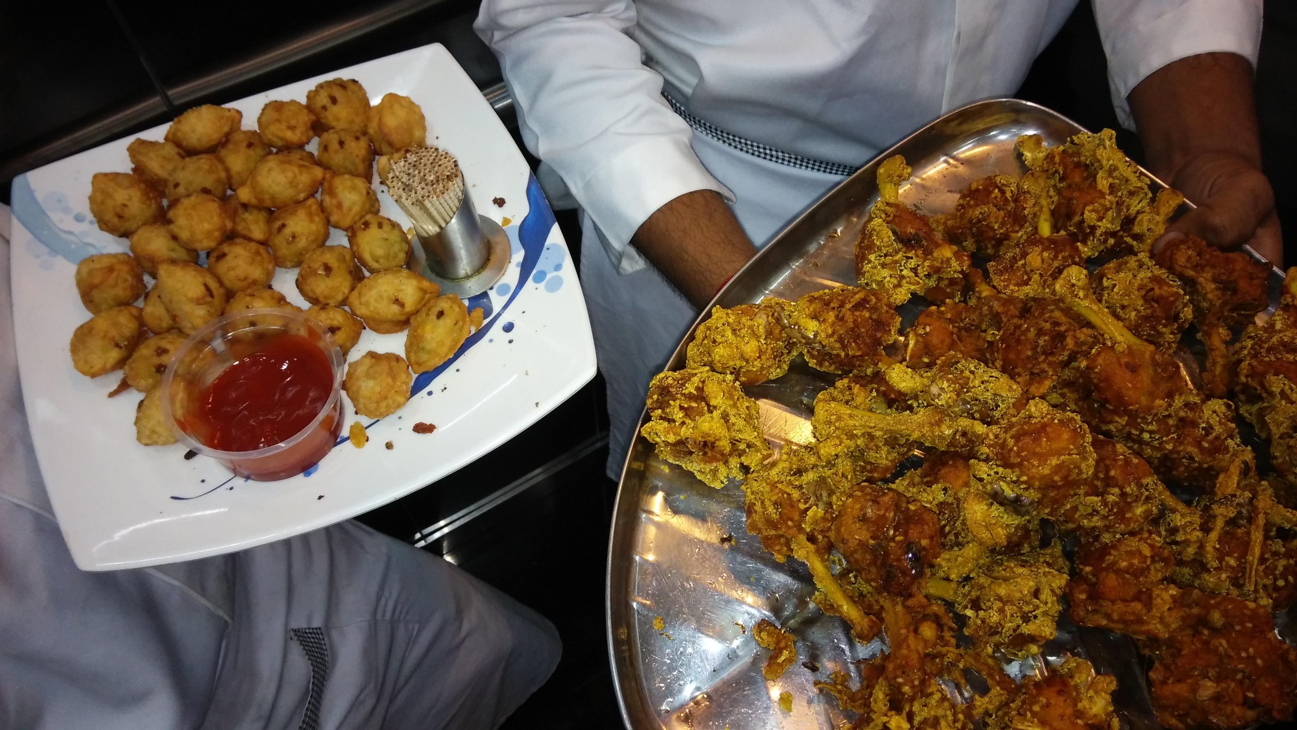 eten in een restaurant
