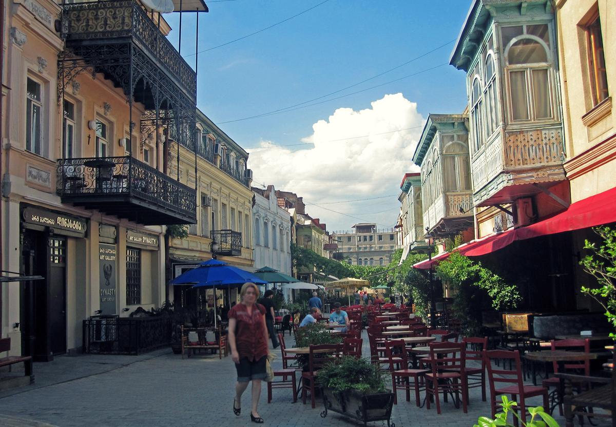 Erecle Street Tbilisi