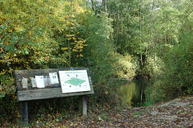 Explanatory sign in Ufton Fields nature reserve - geograph.org.uk - 1550574