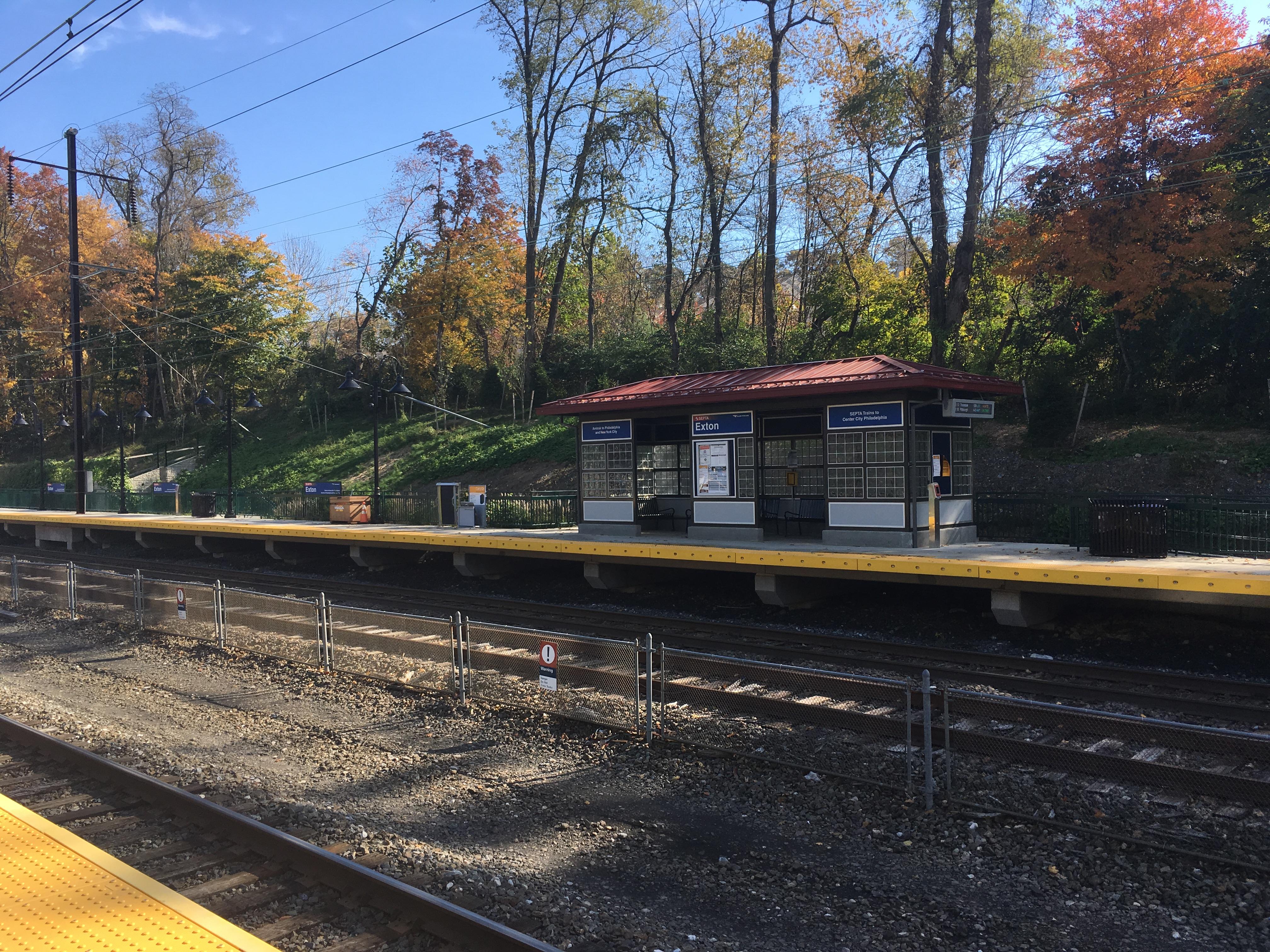 Exton Station Pennsylvania Wikipedia