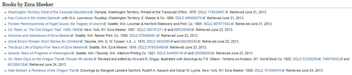 Ezra Meeker bibliography today, after OCLC.png