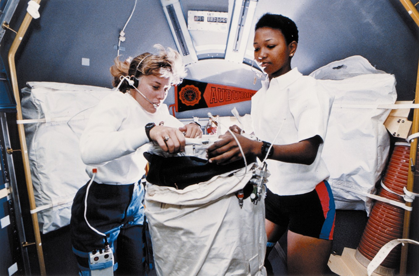 women astronauts Across the globe, women space travelers have represented their home countries well dr helen patricia sharman (born may 30, 1963) was the first british astronaut and the first briton to travel.