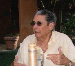Fernando Espejo en Chicxulub, Yucatán.