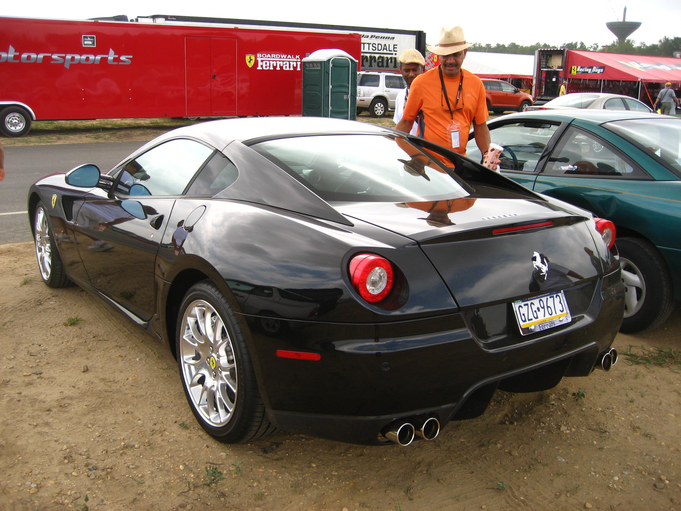 Ordinaire File:Ferrari 599 GTB Rear.JPG