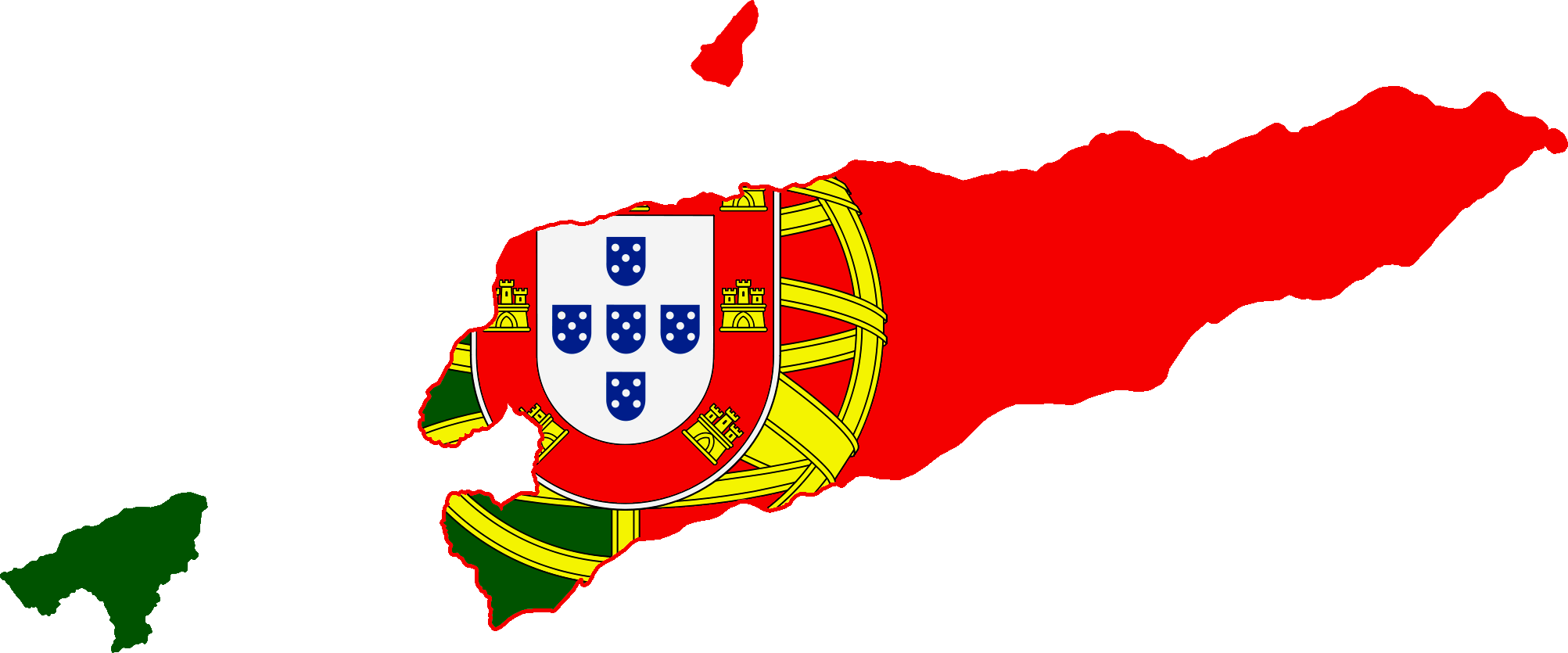 FileFlag Map Of Portuguese Timor Png Wikimedia - Portugal map flag