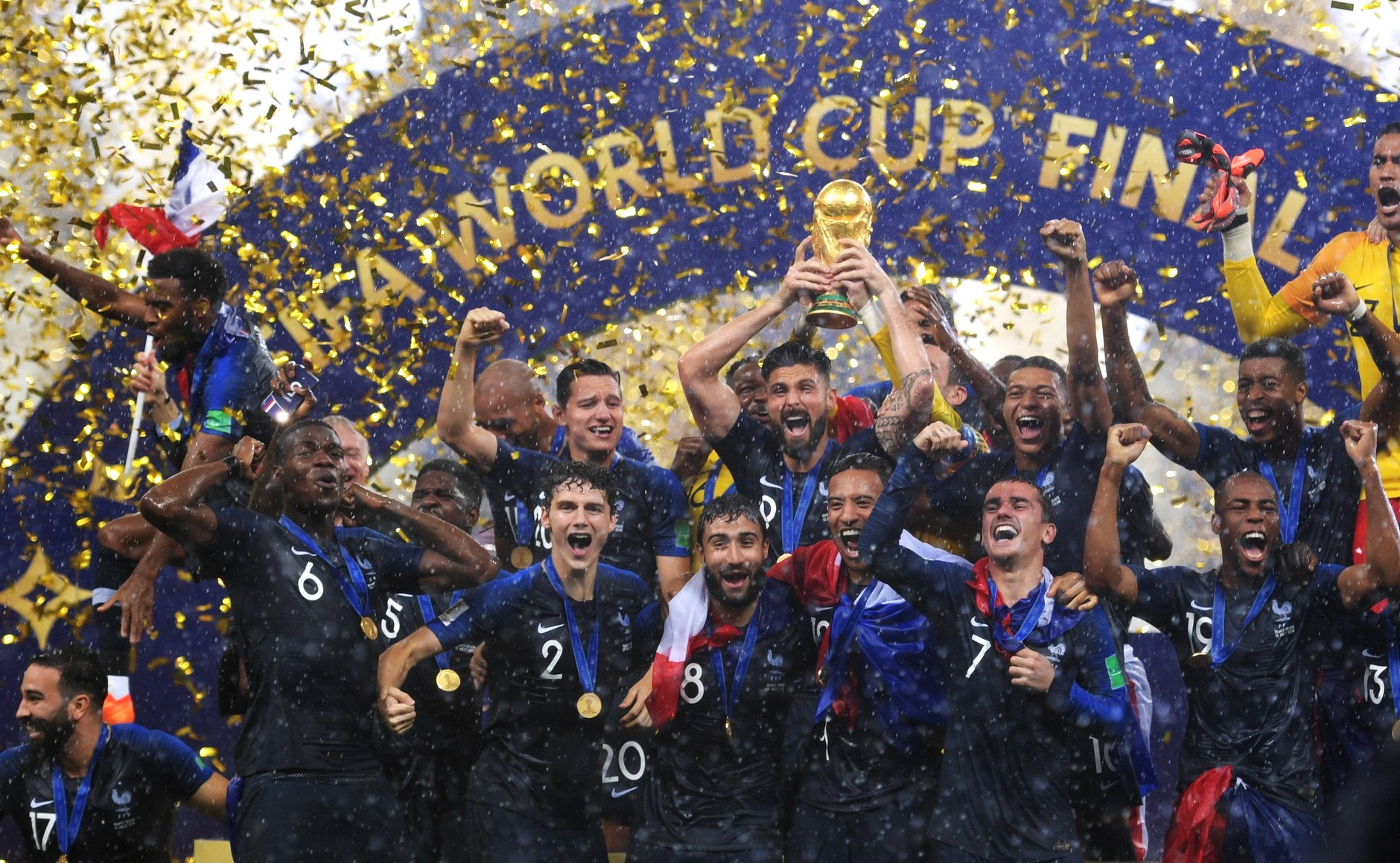 0b20eb4a1 2018 FIFA World Cup Final - Wikipedia