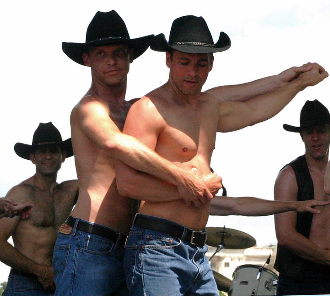 Cowboys are gay