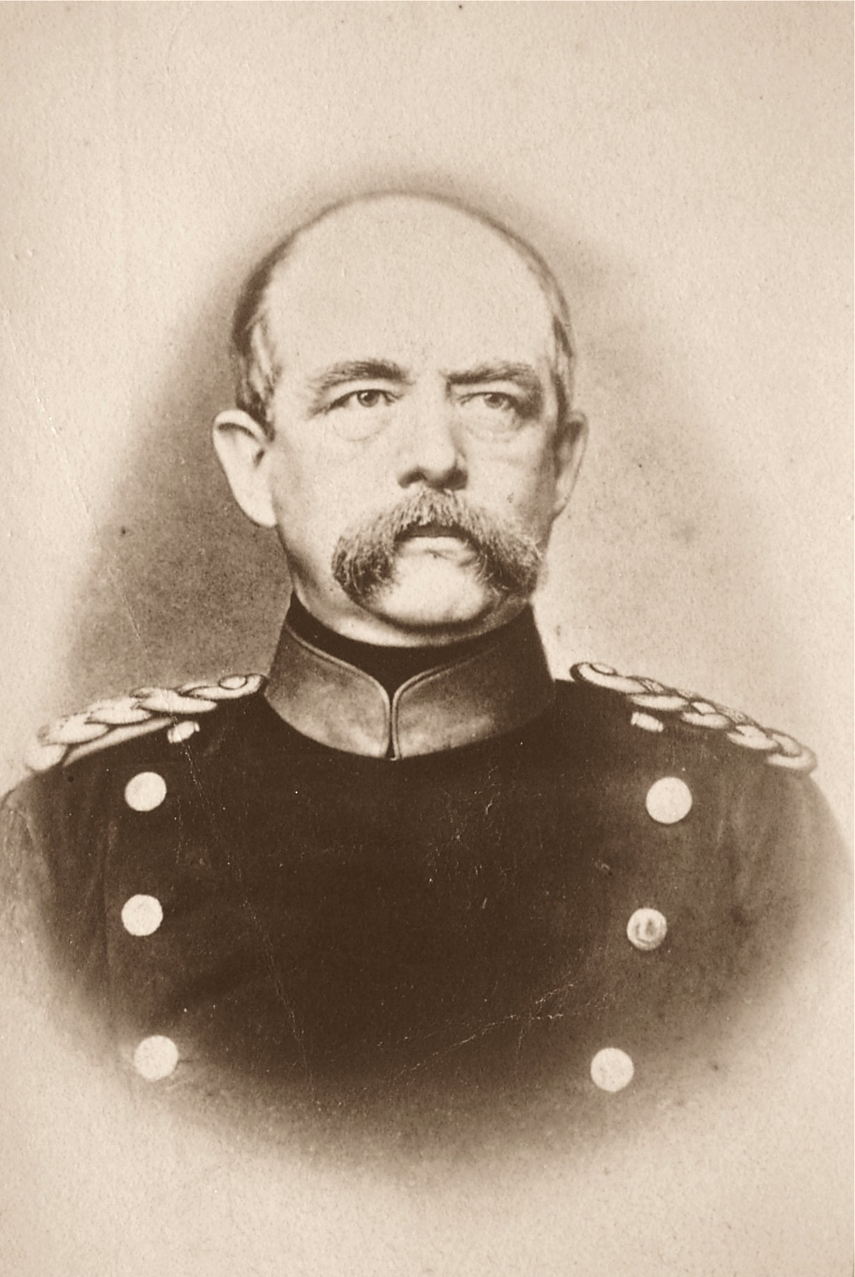 otto von bismarck chancellor of the A giant of a man (he was six feet five inches), bismarck came from a moderately prosperous junker family early in life he showed little promise, but marriage and.