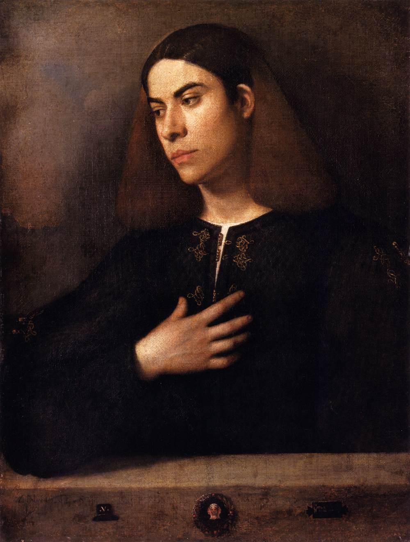 Ritratto di giovane (Giorgione Budapest) - Wikipedia
