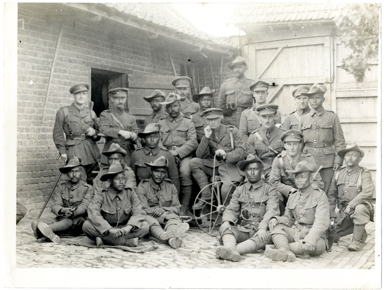 File:Group of British and Indian officers 1-4th Gurkhas (Photo 24-99).jpg