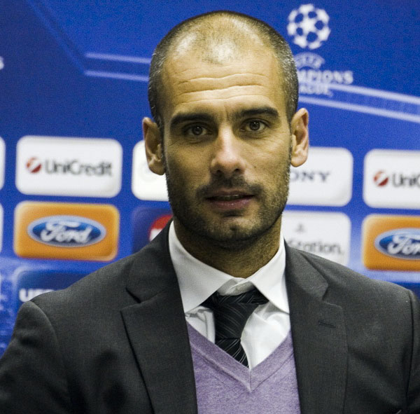 Photo of Guardiola