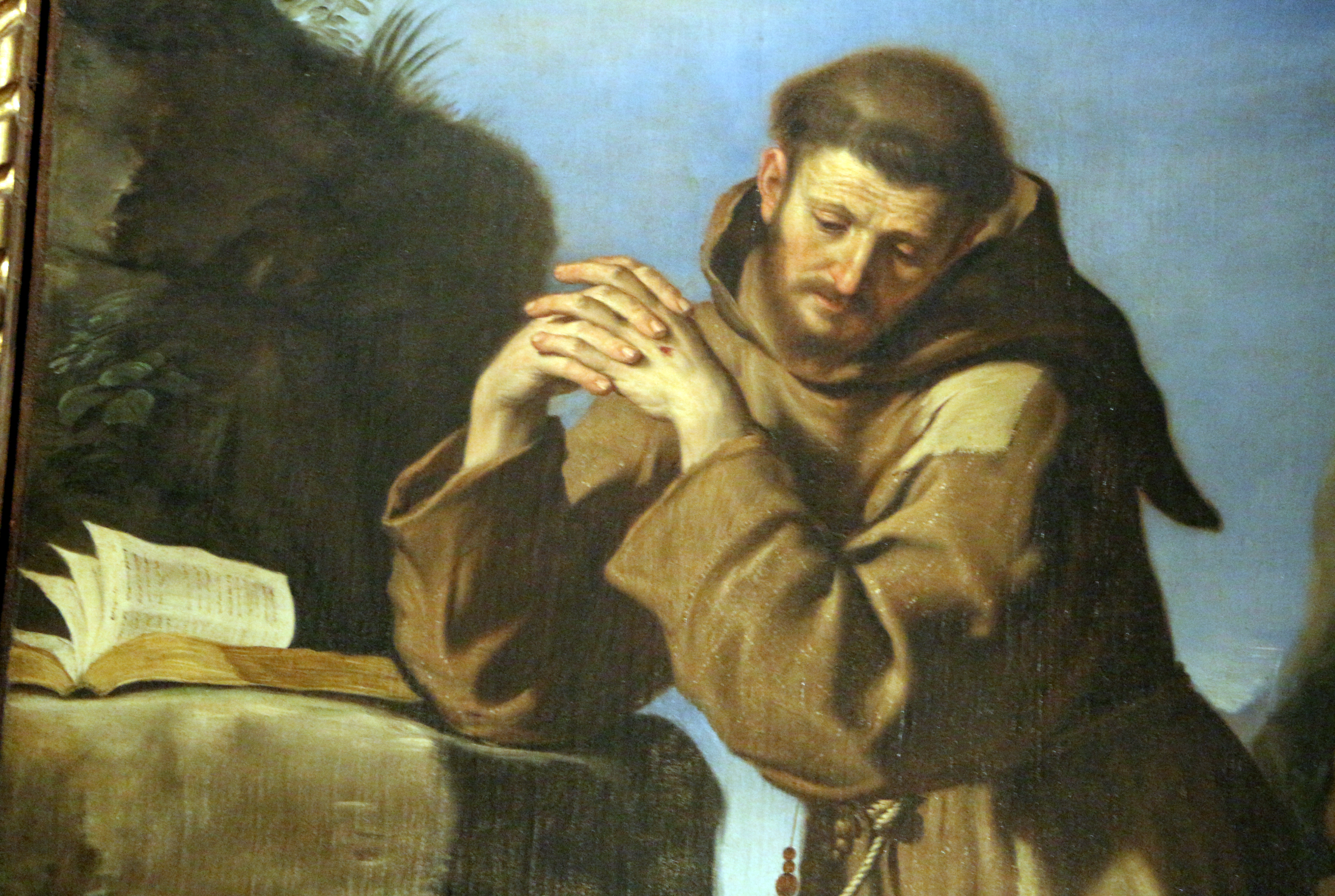 File:Guercino, san francesco che adora il crocifisso, 1645, 06.JPG ...