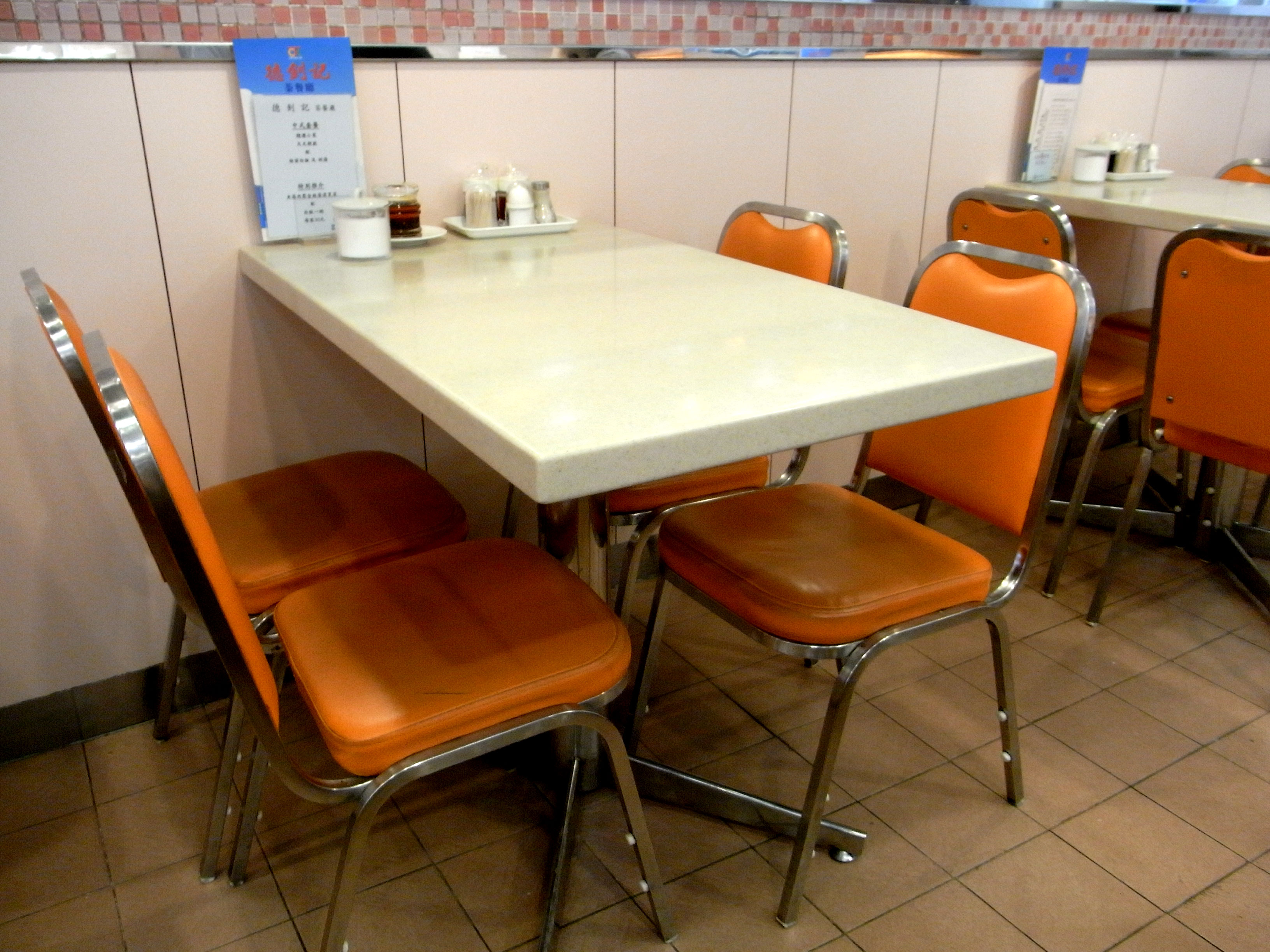 Beau File:HK Sheung Wan 德釗記茶餐廳 Tak Chiu Kee Restaurant Table Chairs