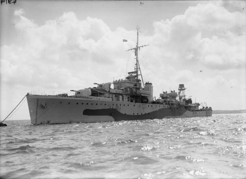 HMS Stork 1943 IWM FL 22540