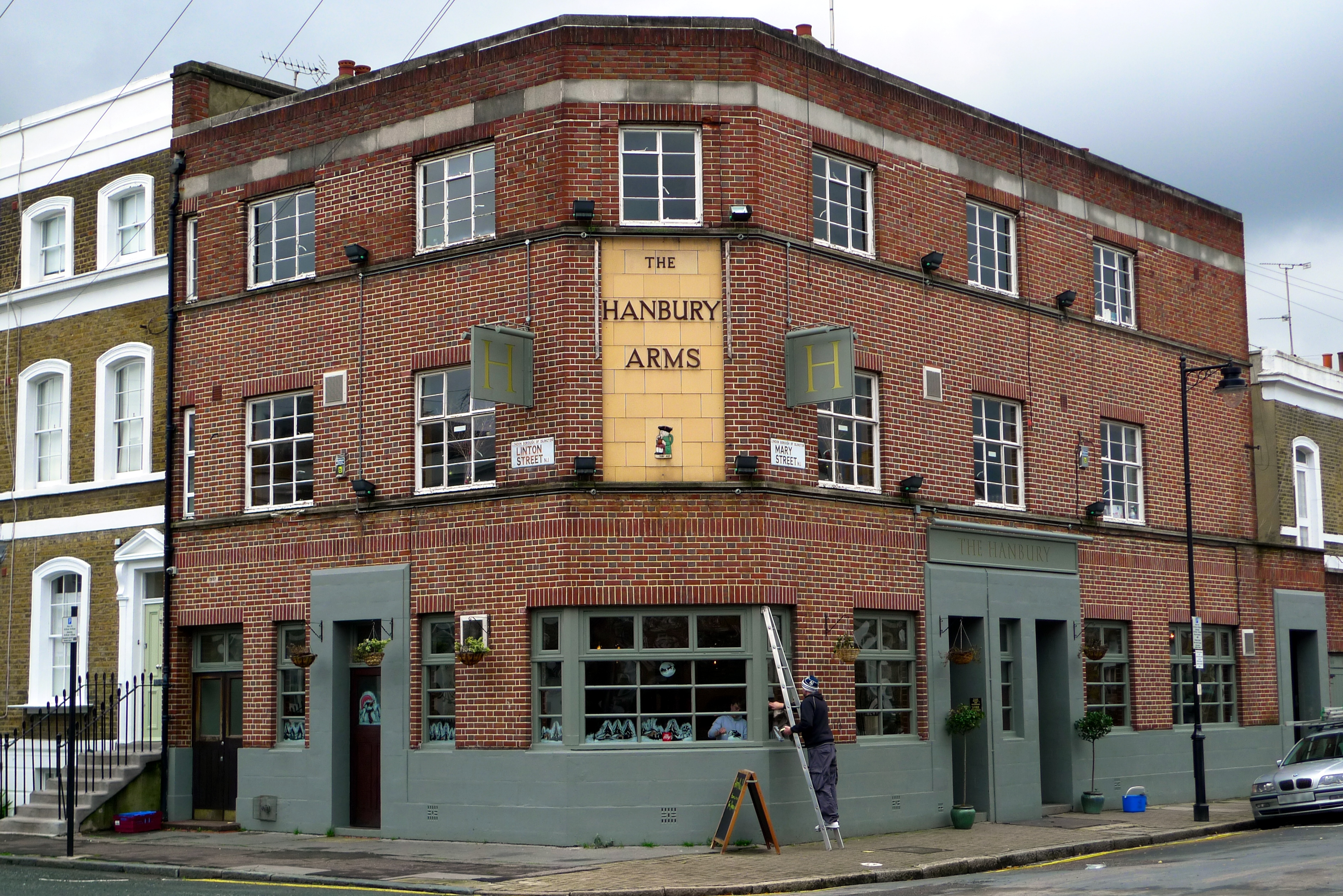 The hanbury arms speed dating