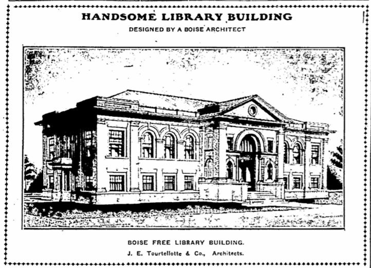 File:Handsome Library Building (Carnegie Library, Boise).jpg