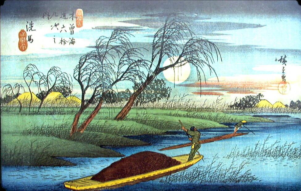 Hiroshige Famous Paintings