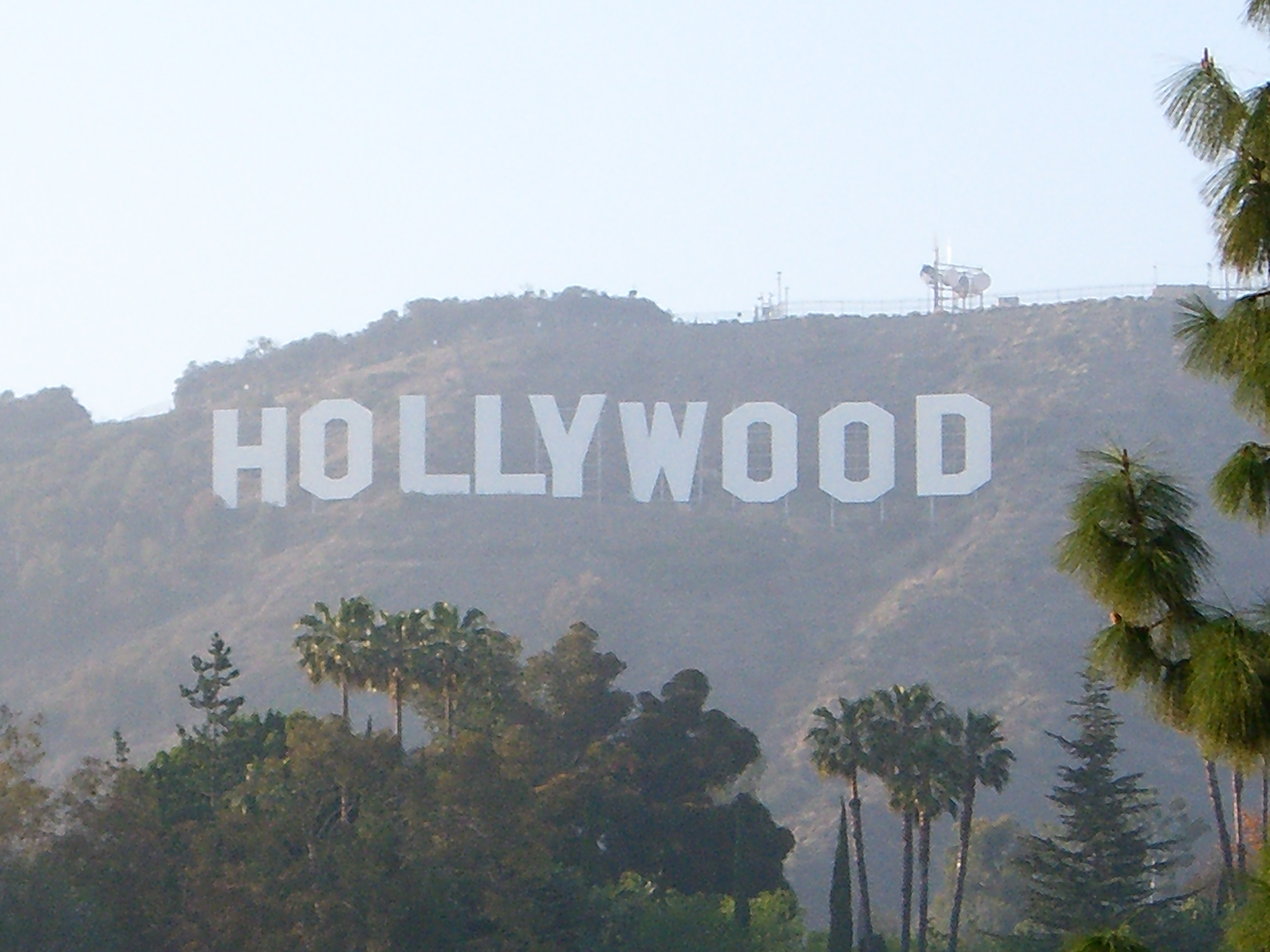 Hollywood Sign Public Domain Clip Art Photos and Images