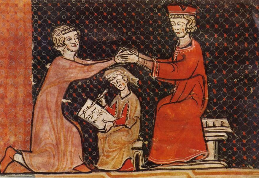 Edad Media (I) Hommage_au_Moyen_Age_-_miniature
