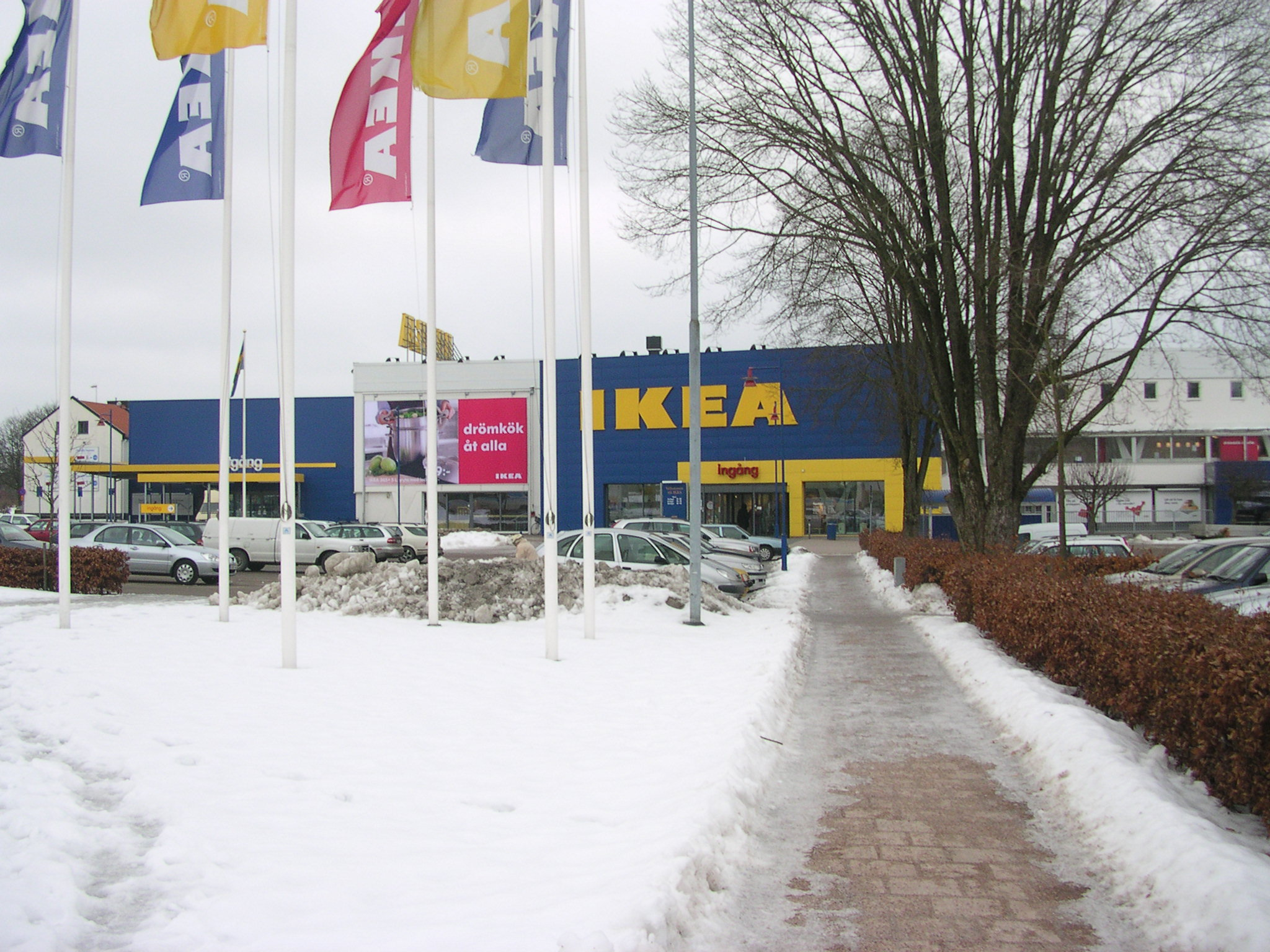 file ikea in lmhult wikimedia commons. Black Bedroom Furniture Sets. Home Design Ideas