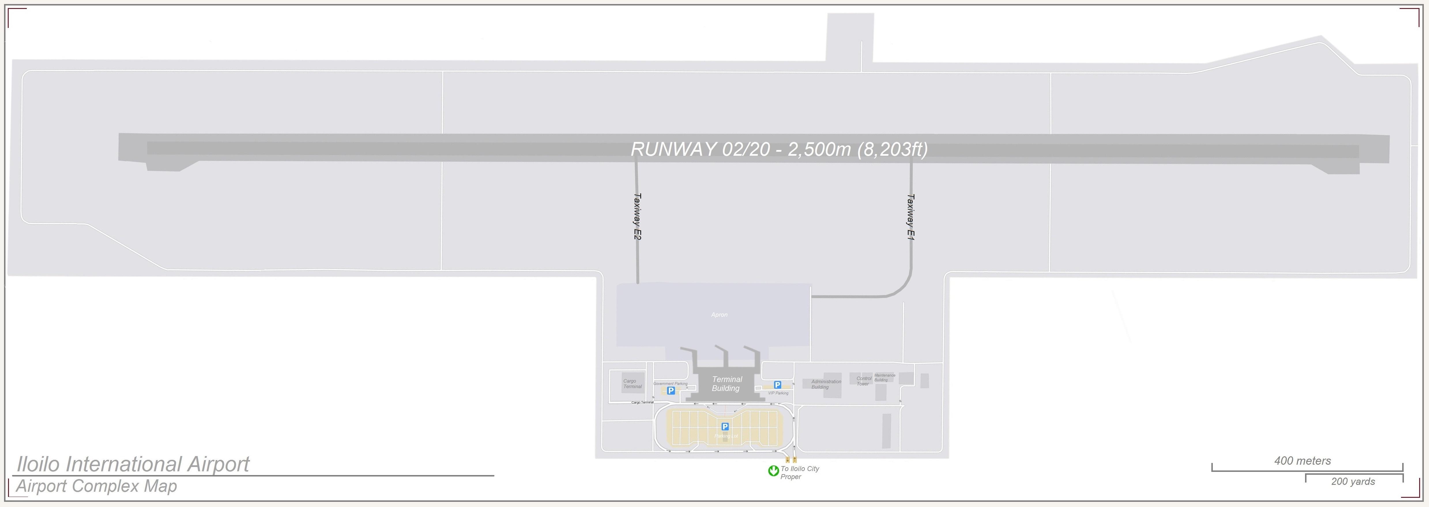 Iloilo International Airport Map File:Iloilo International Airport Complex Map.   Wikimedia Commons