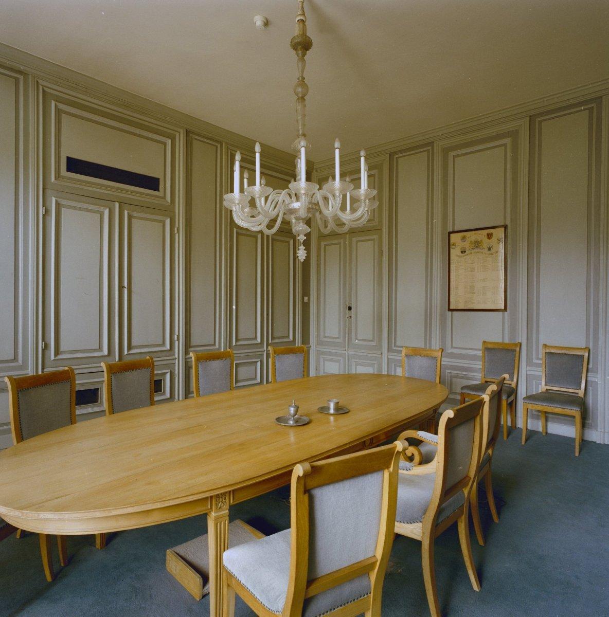 File interieur overzicht van de grijze eetkamer ofwel de civiele raadkamer middelburg - Deco van de eetkamer ...