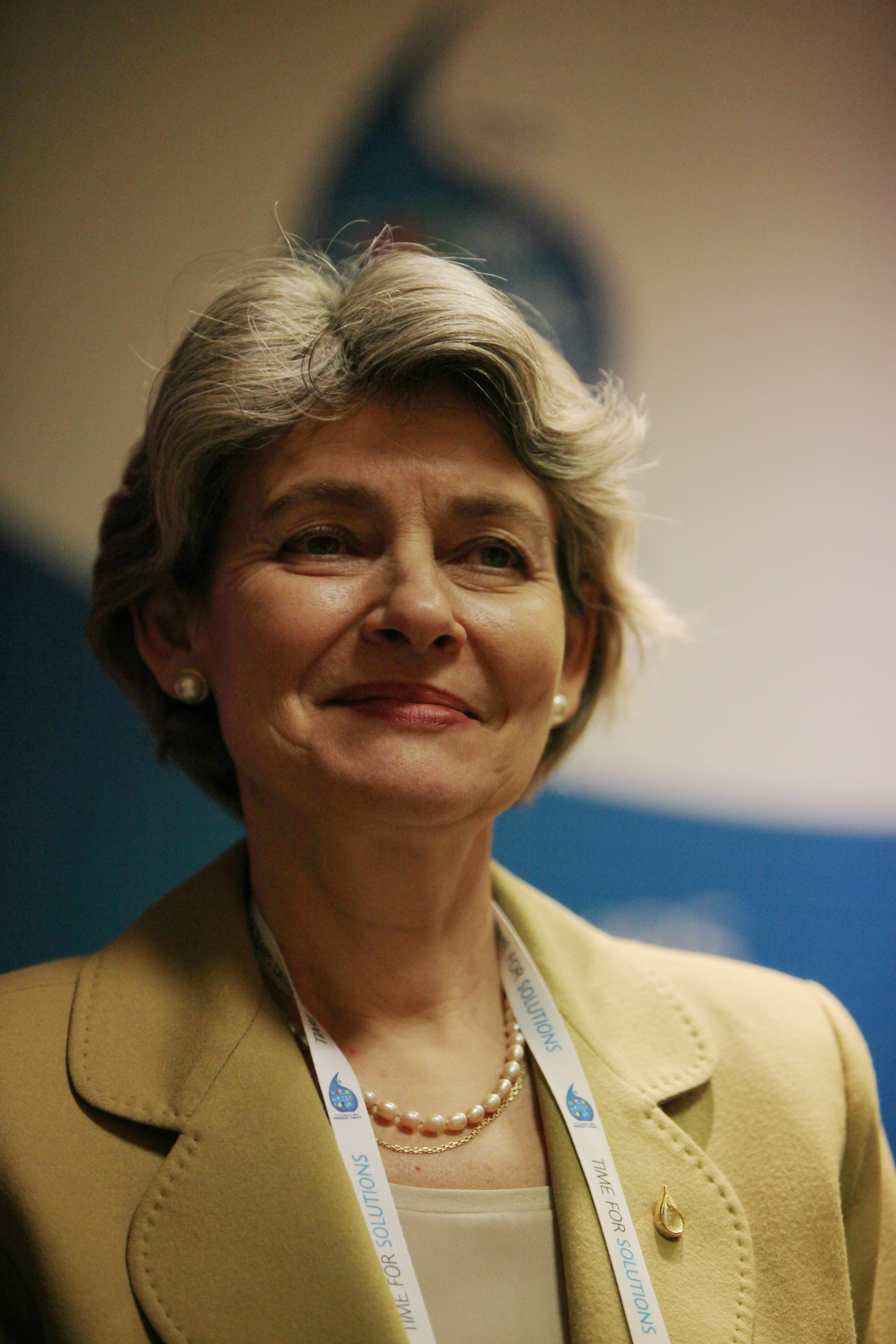 loading image for Irina Bokova