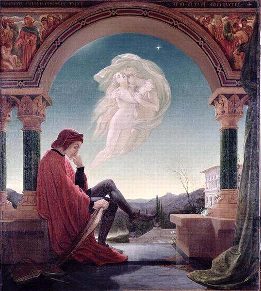 Joseph Noel Paton - Dante Meditating