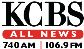 Final logo under CBS Radio ownership used from 2011 to 2018 with CBS's Didot typeface; variants of this logo have been used since 2005.