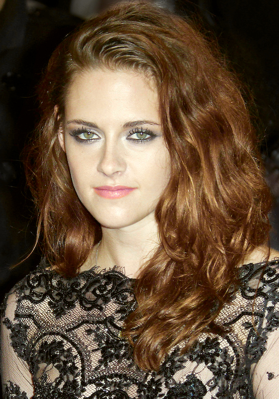 Stewart at the UK premiere of Kristen Stewart