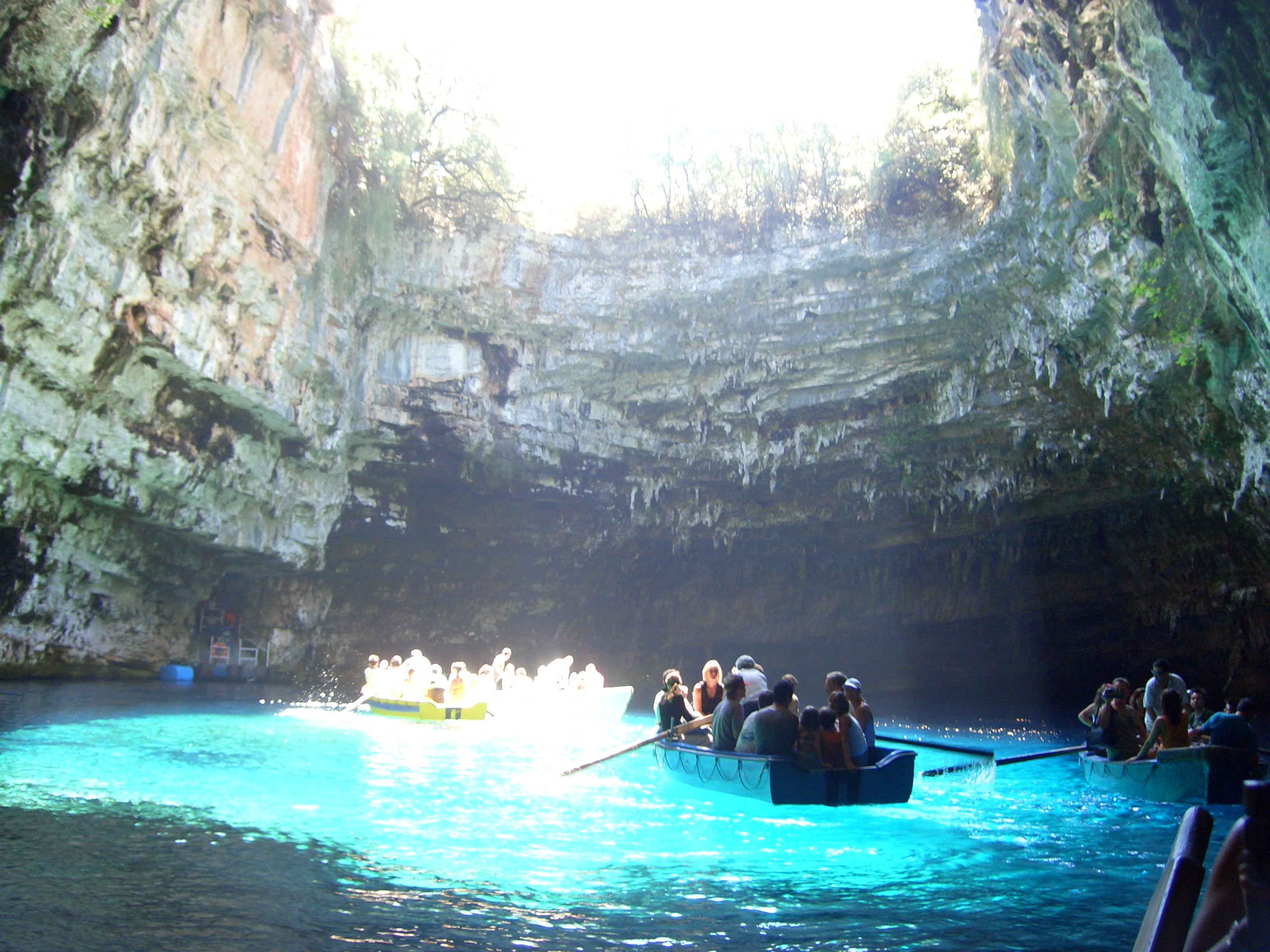 Lake Melissani, Cephalonia, Greece