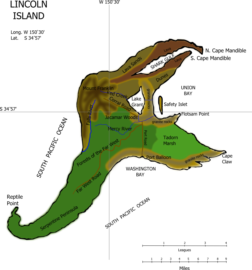 Island Mystery Game