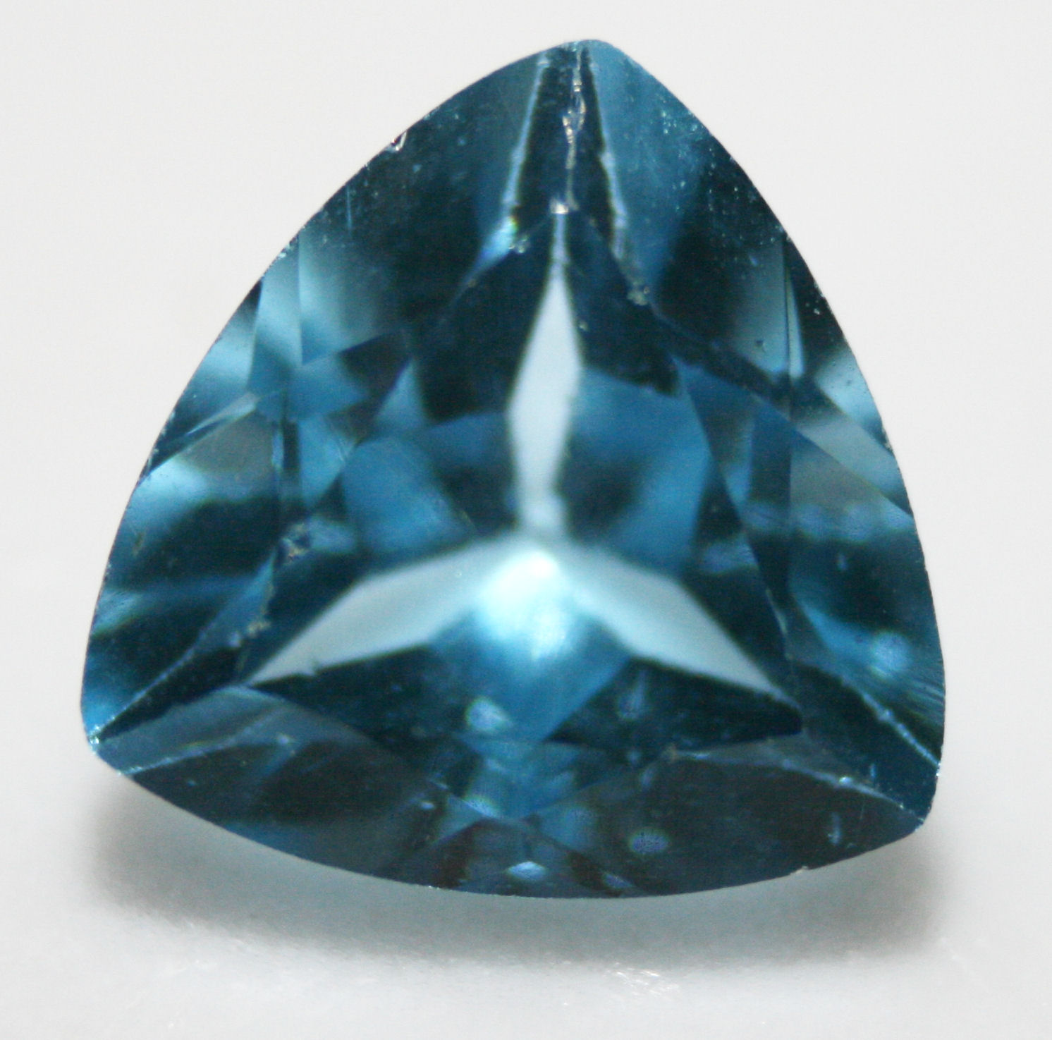 Blue And Topaz Paint Splater