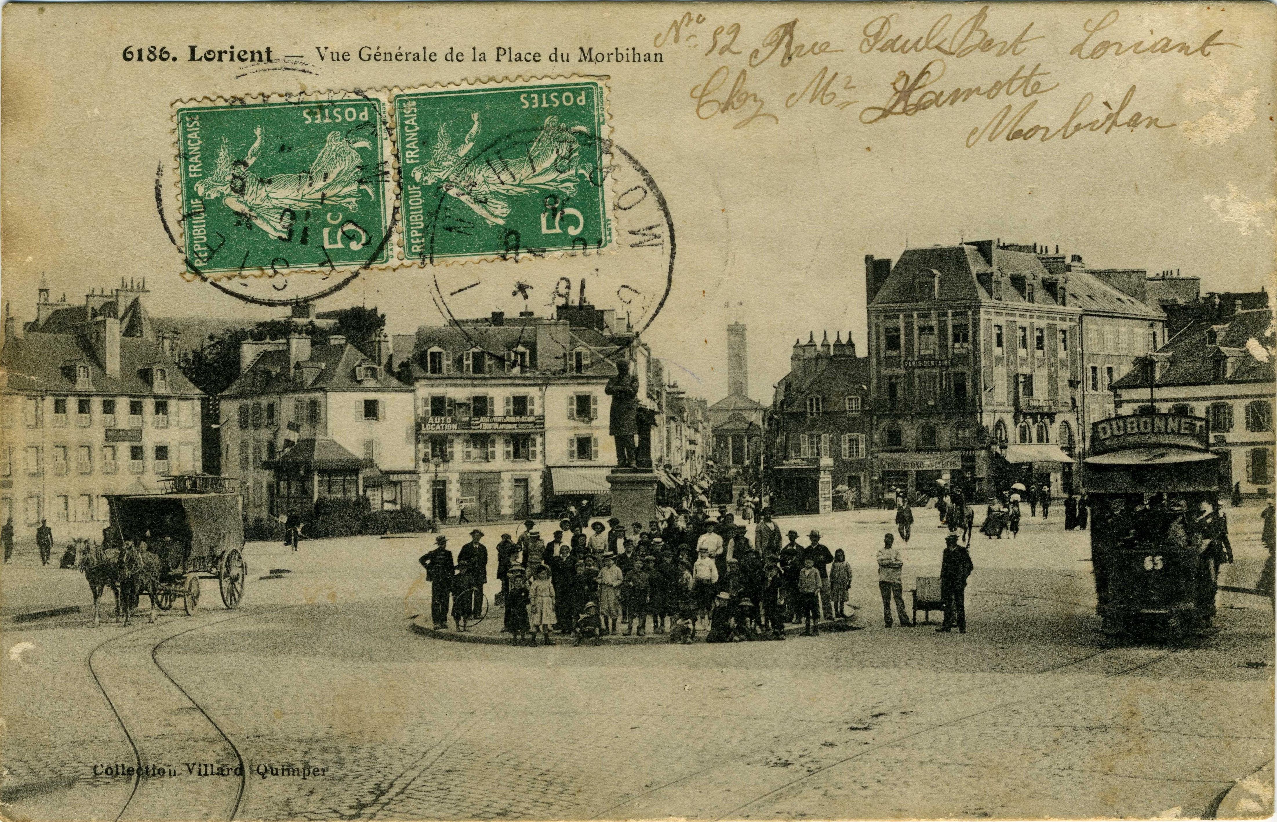 Restaurant Lorient Carte