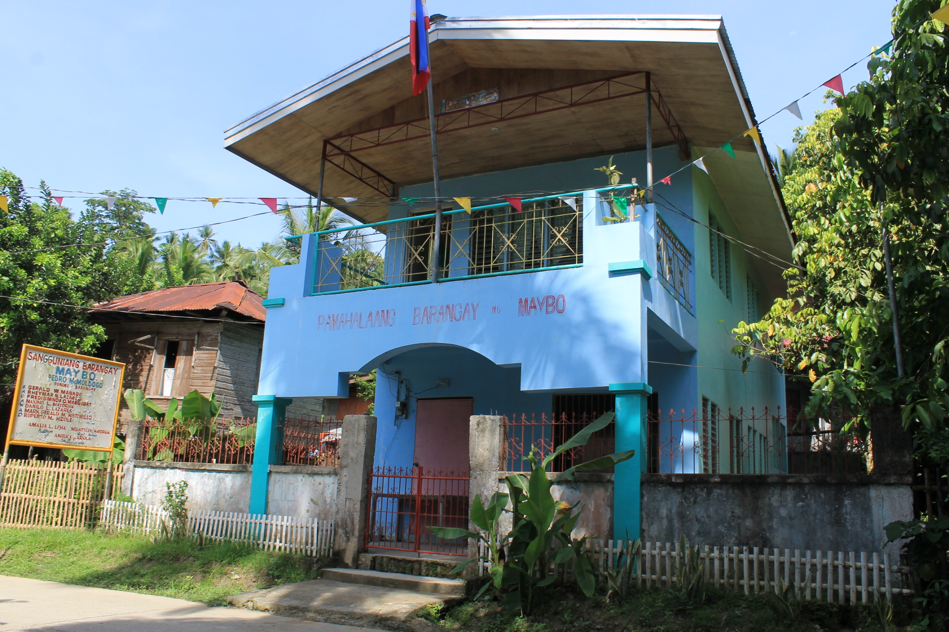 The barangay as a unit of the society