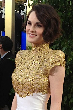 Dockery at the [[2013 Golden Globe Awards]]